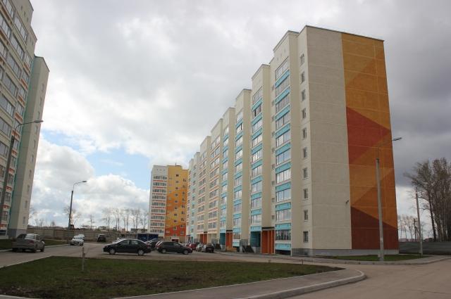 В новостройку на улице Целинная уже въехали первые жильцы.