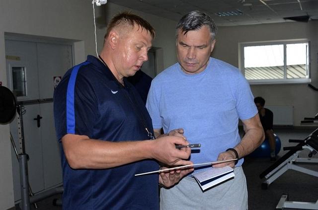 Дмитрий Шандуров и Андрей Сидоренко.