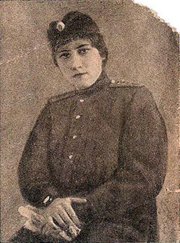 Шаховская Евгения Михайловна. В действующей армии, 1915 год