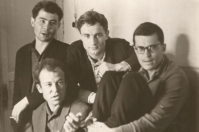 «Квартет имени Реутского» в составе Александра Вампилова, Глеба Пакулова, Петра Пиницы, Бориса Черных