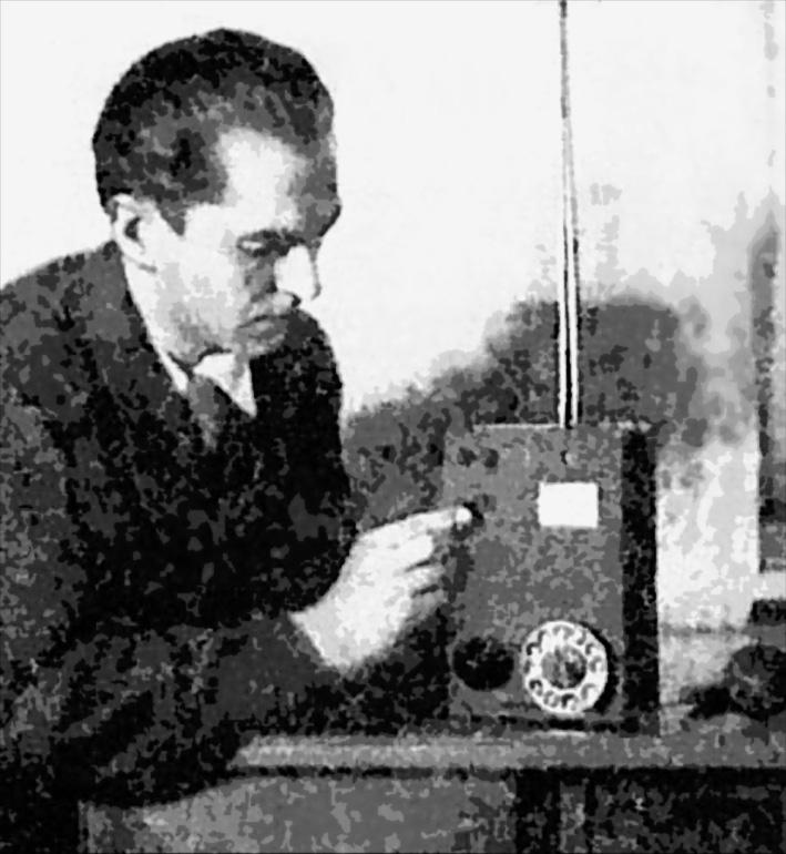 Первый мобильник Леонида Куприяновича, 1957 г.