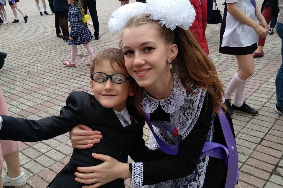 Артём - любимый младщий брат.