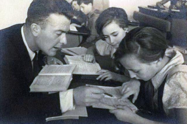 Испанские дети в СССР. Занятия в школе.Вторая половина 1930-х годов