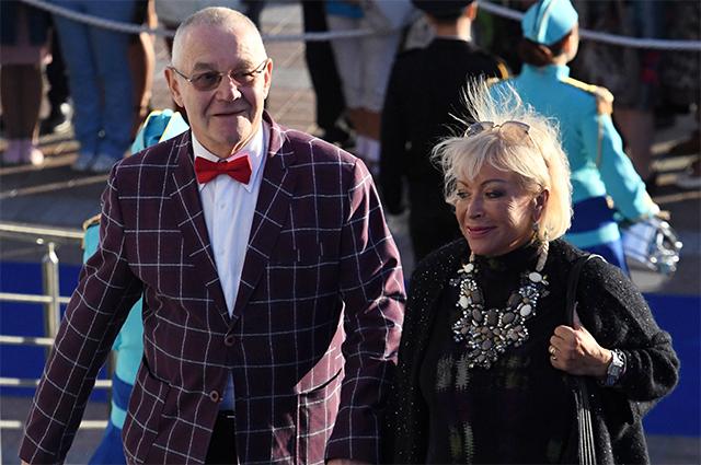 Композитор Александр Журбин с супругой Ириной.