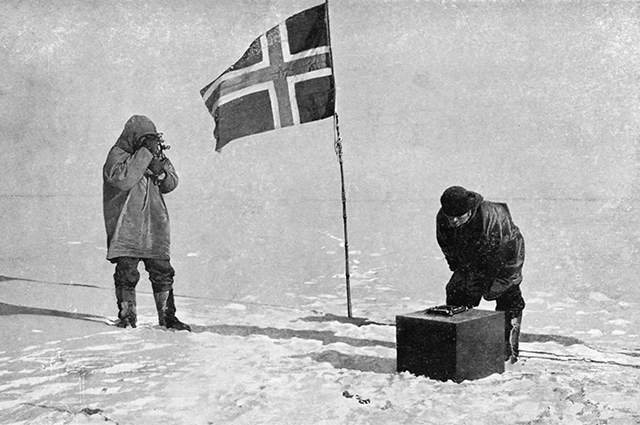 Норвежцы на Южном полюсе.