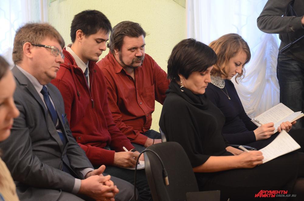 Пресс-конференция нового митрополита Оренбургского и Саракташского Вениамина.
