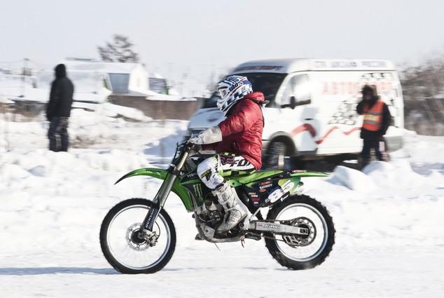 В Омске популярен не только вело- , но и мотоспорт.