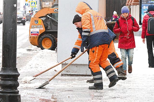 жкх, лед, уборка улиц