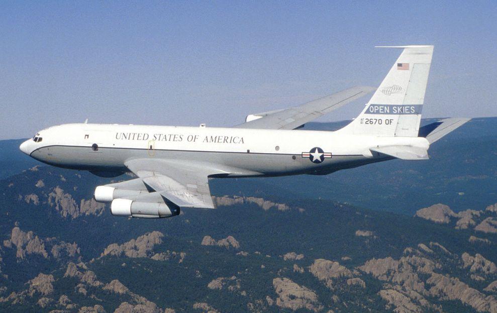 Боинг OC-135B.