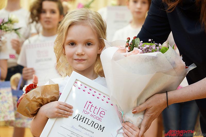 А в самой юной категории главную награду взяла 5-летняя Валерия Забегайлова.