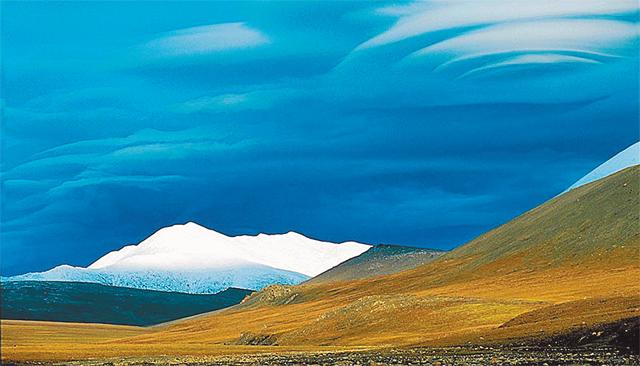 Фотография с острова Врангеля «Летним вечером в Арктике» была признана лучшей в номинации «Пейзаж».
