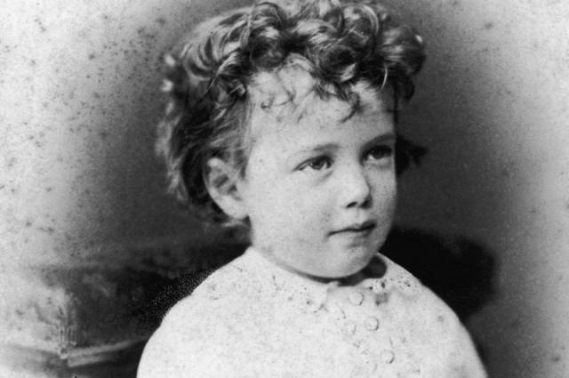 Великий князь Николай Александрович в возрасте 3 лет.