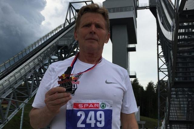 Самый старший участник соревнований занял 31 место из 50 в своем забеге