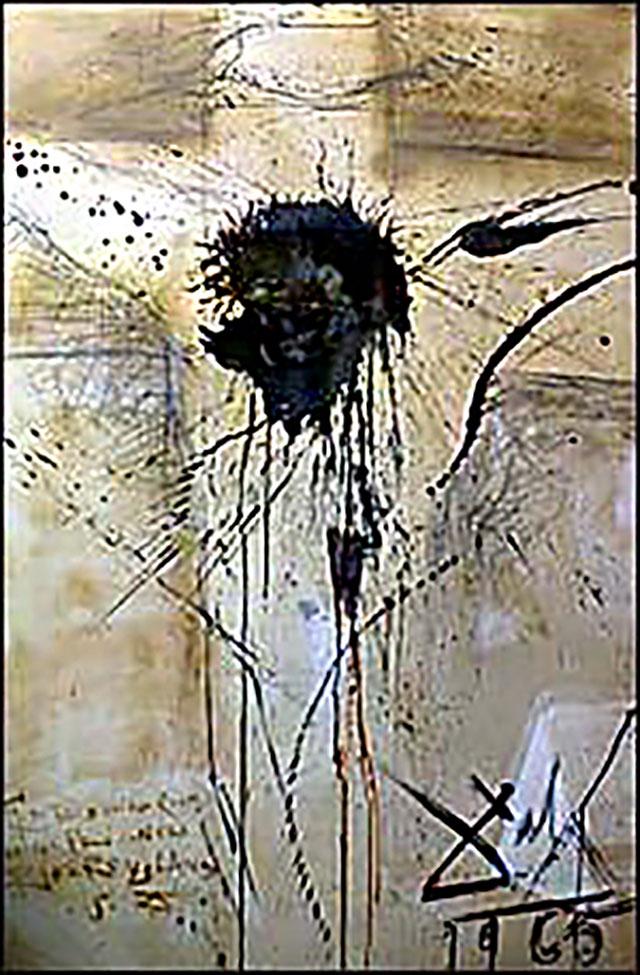 «Распятый Христос» из тюрьмы Рикерс-Айленд, 1965 г. Сальвадор Дали.