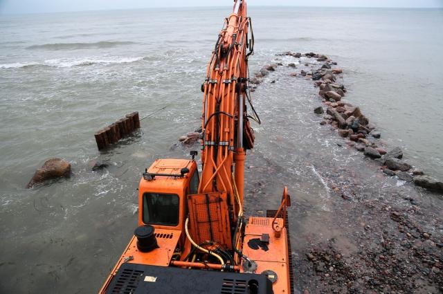 Ширину прилегающего пляжа планируют увеличить от 12 до 30 метров.