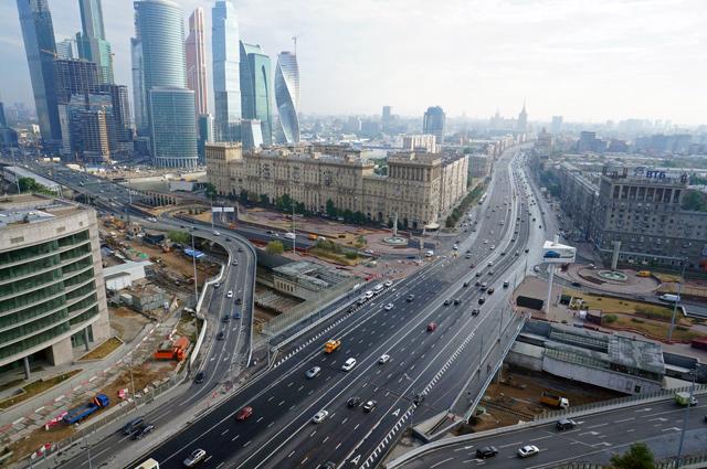 Новый Можайский путепровод сможет выдерживать транспортную нагрузку МЦК, метро и ТТК.