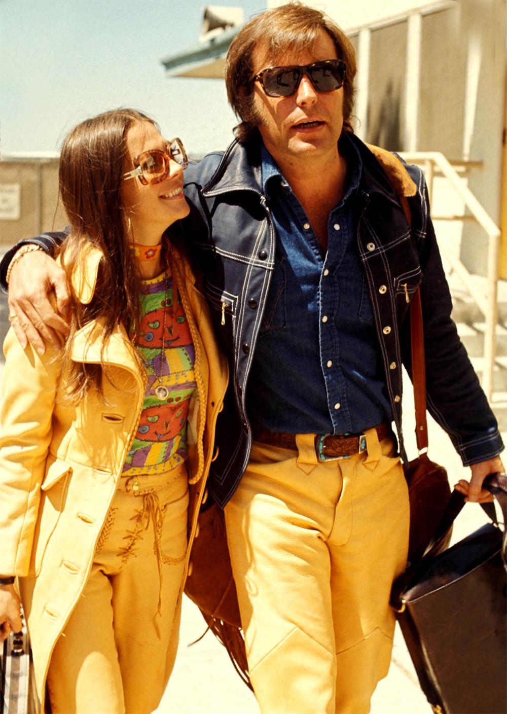 Натали Вуд с Робертом Вагнером.