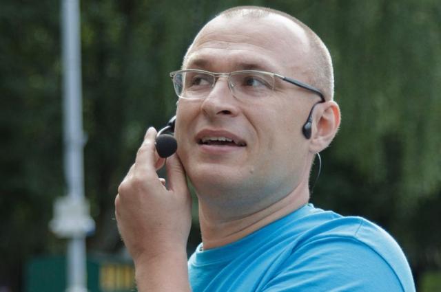 Руководитель тульского клуба свинговых танцев Михаил Постолит.