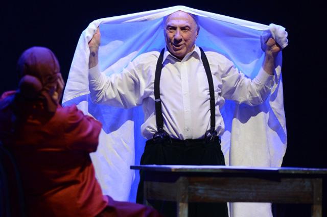 Спектакль «Полеты с ангелом. Шагал» с участием Сергея Юрского