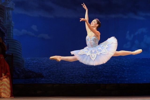 Танцует Елизавета Мислер.