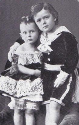 Георгий с цесаревичем Николаем.