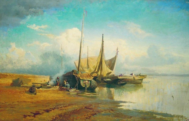 В настоящее время полотно экспонируется в Петербурге в Русском музее.