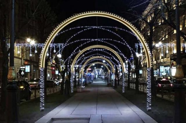 В Петербурге появятся световые арки.