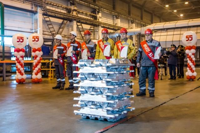 В 2016 году завод произвёл рекордное количество сплавов.