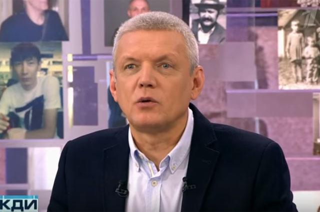 Александр Галибин в программе «Жди меня».