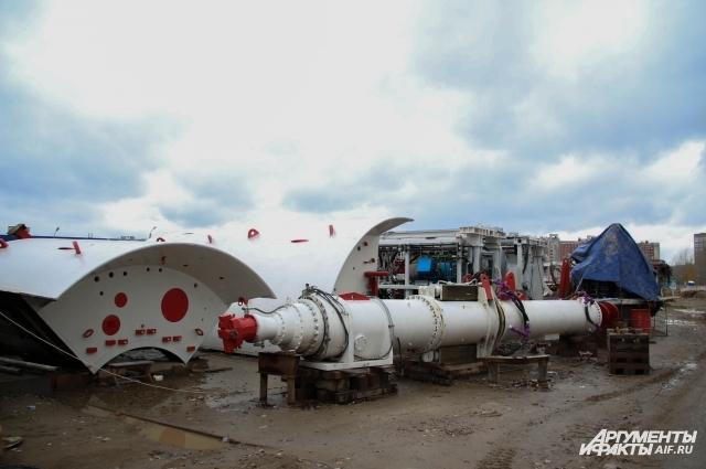 Тоннелепроходческий комплекс «Татьяна» разобран и готов к отправке на новый объект. Возможно, это будет следующая станция нижегородского метро.