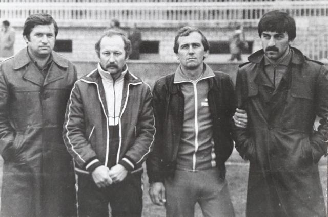 В 1980-х годах Станислав Черчесов начал свою профессиональную карьеру.