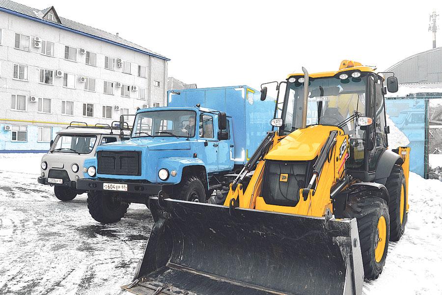 В прошлом году в АО «Газпром газораспределение Тамбов» обновлено 45 единиц автопарка.