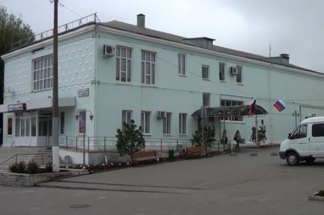 Пункт приема заявлений в селе Покровском Ростовской области.