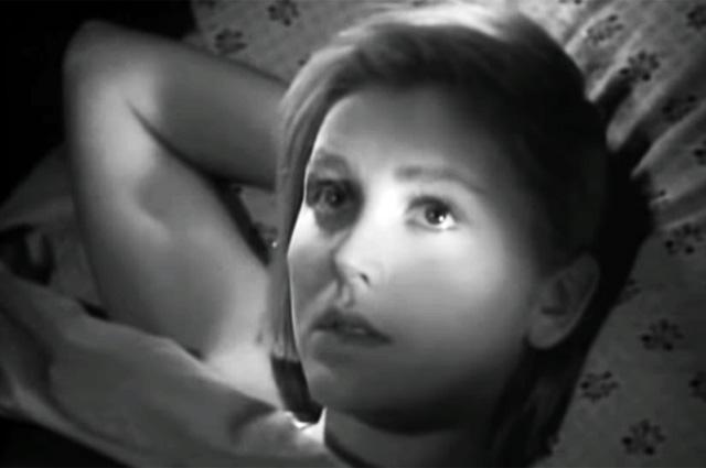 Инна Гулая в фильме «Когда деревья были большими».