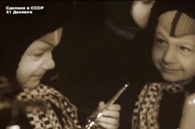 Архив. Новый год в СССР.