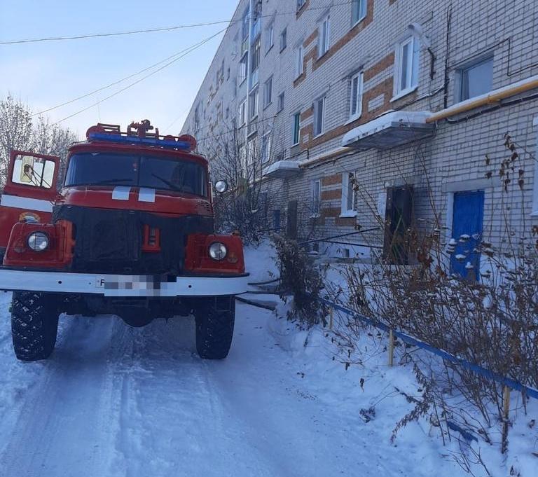 В пятиэтажке, где жил кот Тишка, случился пожар.