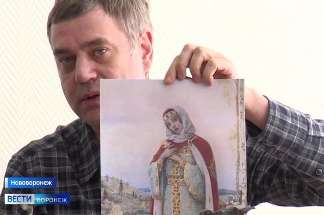 Мастеров вдохновила картина Михаила Нестерова «Девушка у озера»