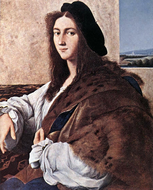 Картина Рафаэля «Портрет молодого человека».