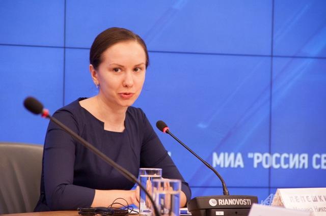 Заместитель директора ГУП НИ и ПИ Генплана Москвы Марина Лепёшкина