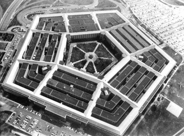 Пентагон штаб-квартира Министерства обороны США. 1968 год
