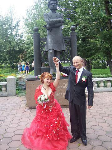 свадебное фото прошлых лет