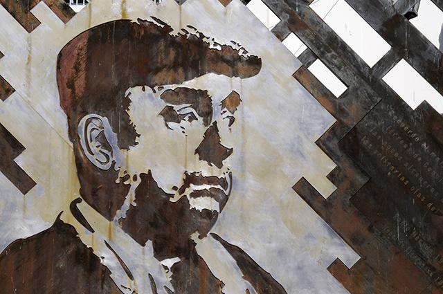 Нобелевский лауреат Пабло Неруда.