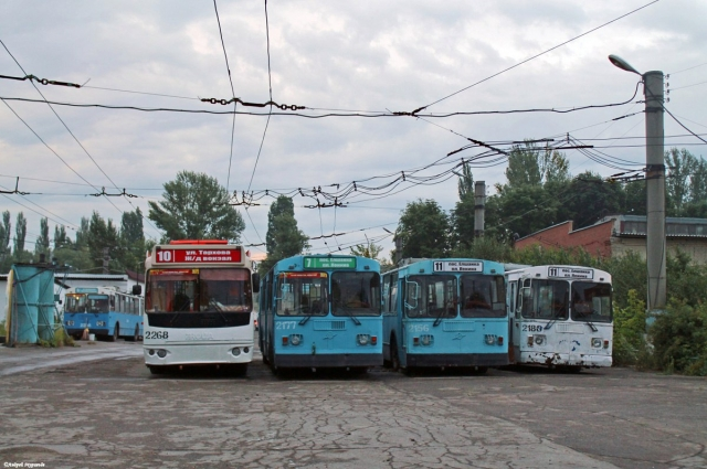 Ленинское троллейбусное депо
