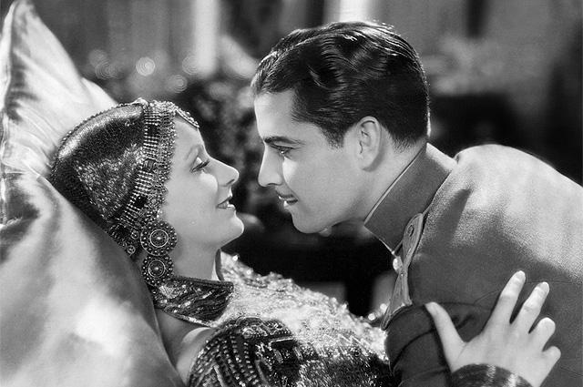 Грета Гарбо и Рамон Новарро в фильме «Мата Хари», 1931 год
