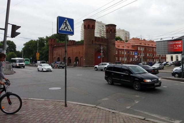 Дороги в Калининграде хорошие, но не везде.