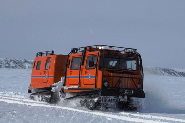 Современная техника в Арктике работает при низких температурах.