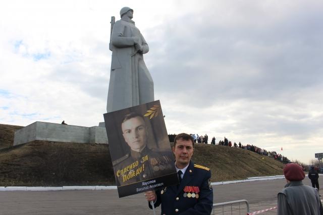Игорь Хаустов гордится своим дедом.