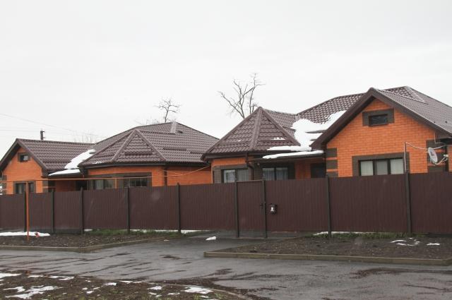Такие комфортные дома строит для своих сотрудников «Радуга».