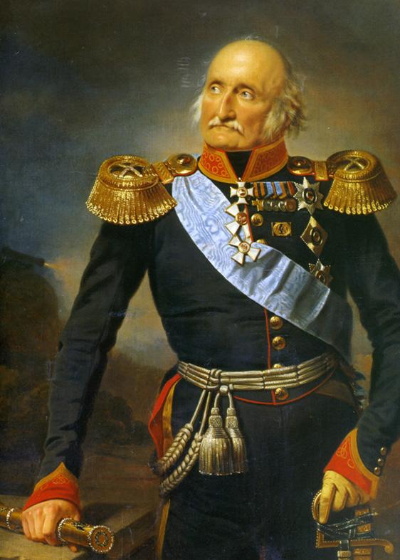 Портрет П. Х. Витгенштейна, художник Ф. Крюгер.