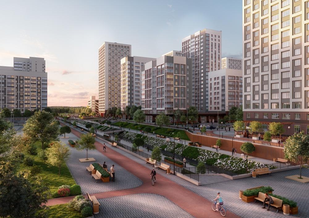 В новом квартале «Близкий» построят 266 тысяч кв.метров жилья.